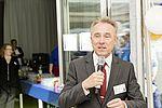 Landrat Dr. Rainer Haas bei der Einweihung des Förder- und Betreuungsbereichs in Großbottwar 2015